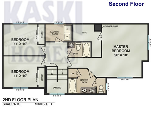 Blue Print 790 Sq. Ft. Main Floor